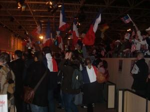 Supporters Français et Américains