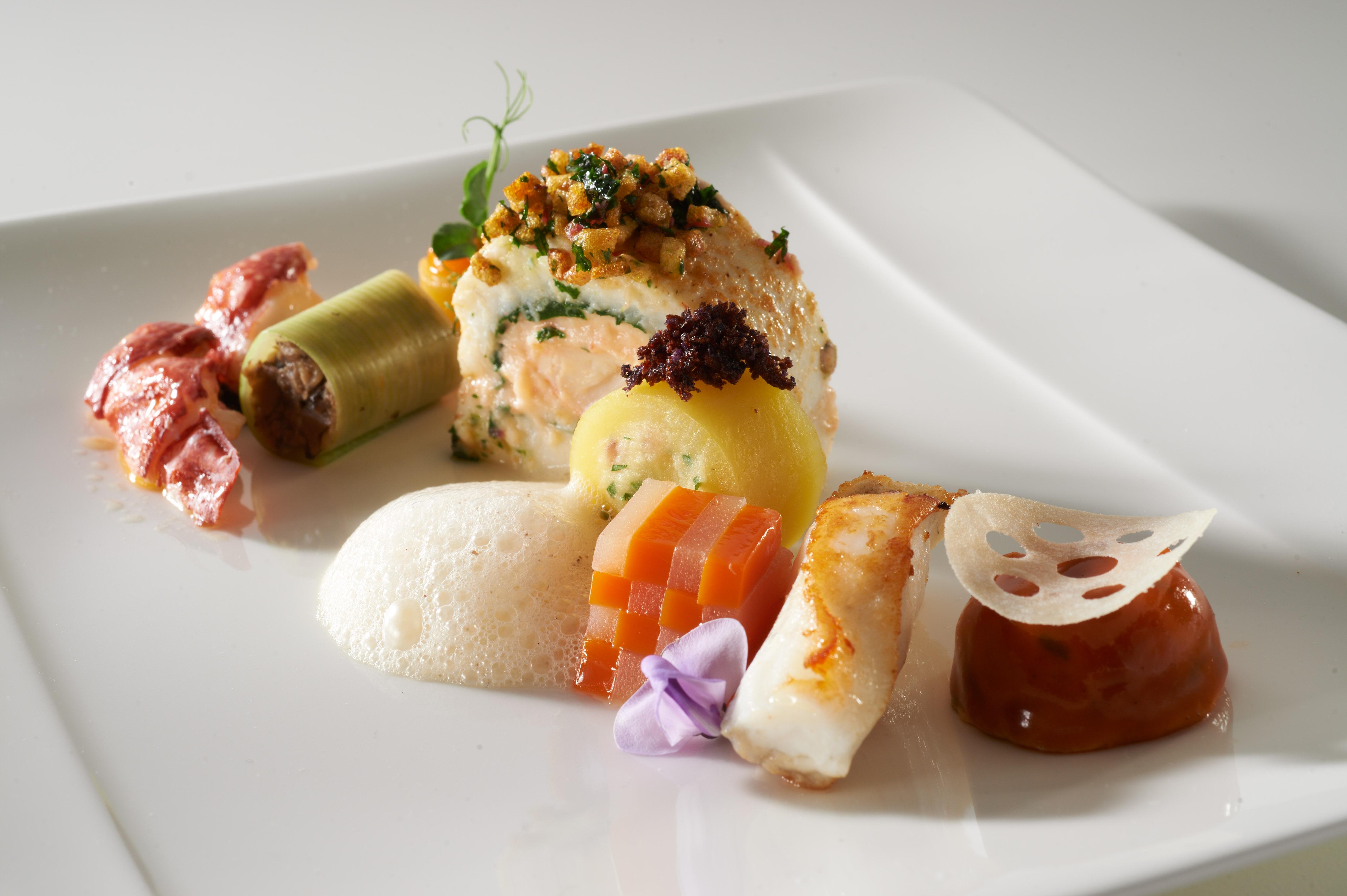 Pays-Bas assiette poisson