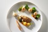 Suède assiette poisson