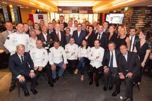 Partenaires et amis de la Team France Bocuse d'Or au Terroir parisien