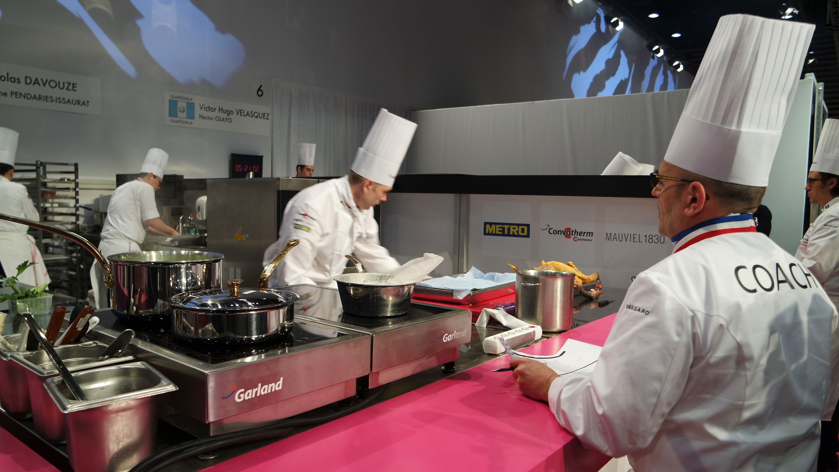 France départ Bocuse d'or 2015