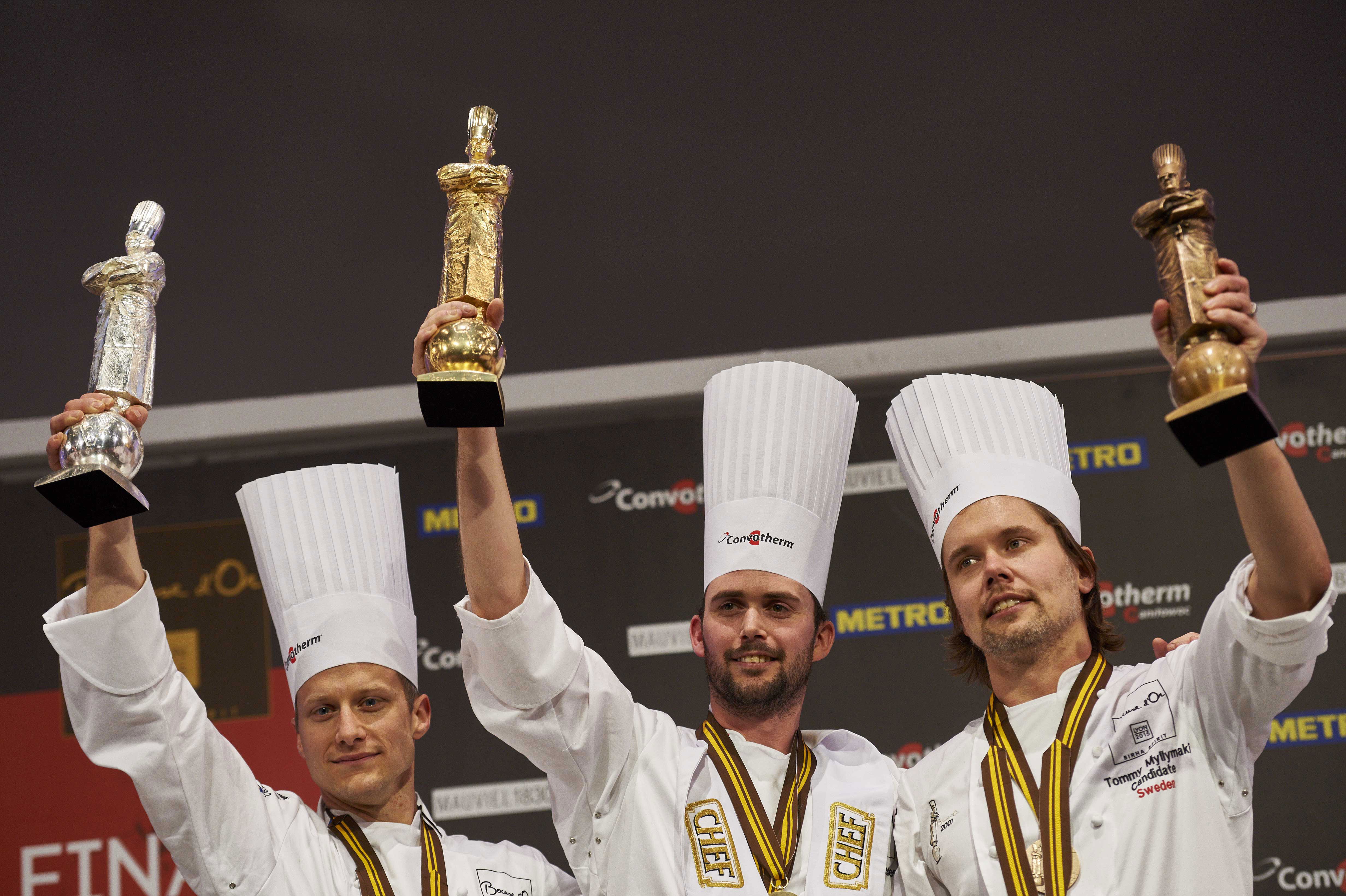 Podium2015 Bocuse d'or