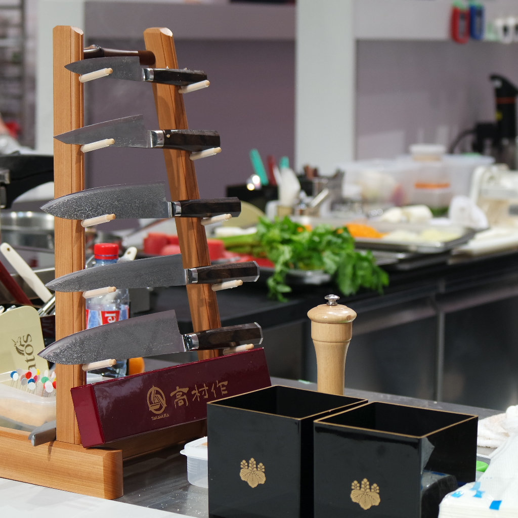 Jaoon Bocuse d'Or 2017 couteaux Takamura