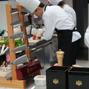 Couteaux Takumura Chroma France Bocuse d'or 2017