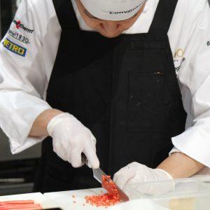 Bocuse d'Or 2017 Japon avec couteaux Chroma France