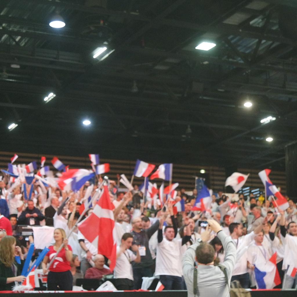 Supporters équipe de France Bocuse 2017