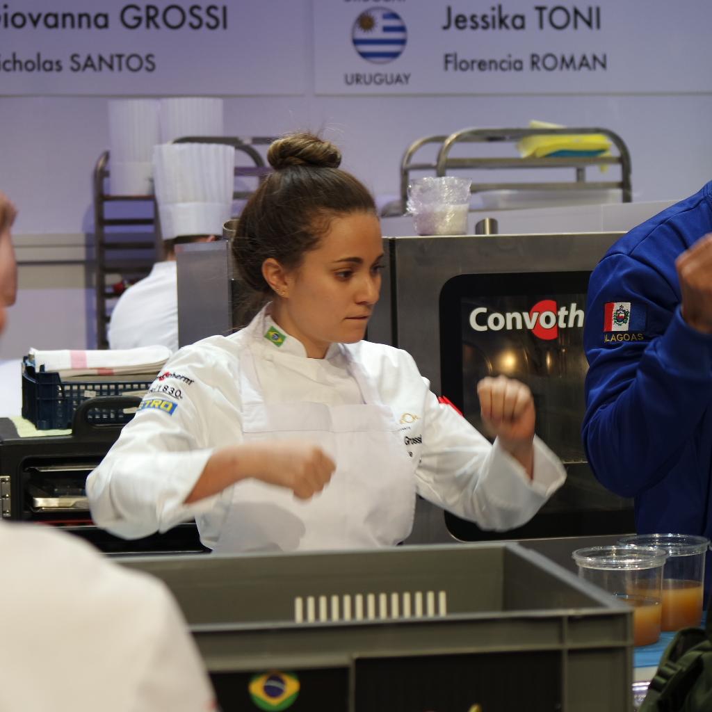Giovanna Grossi Bocuse d'Or 2017